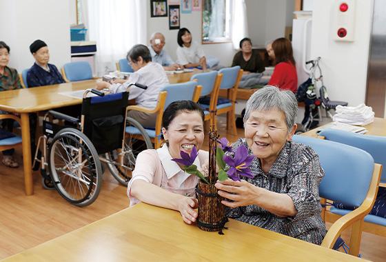 小規模多機能型居宅介護事業所 つきだ
